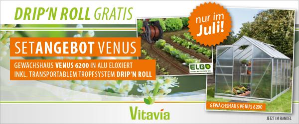 Vitavia Werbemodell Im Juli Gewachshaus Venus 6200 Vitavia