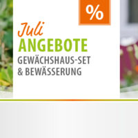 Vitavia Juli 2020 Setangebot Gewächhaus-set Bewässerung