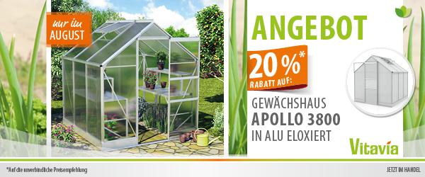 Vitavia Gewächshaus Apollo im Angebot