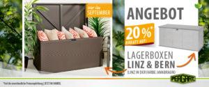 Lagerboxen Linz & Bern (Javabraun) 20% Rabatt