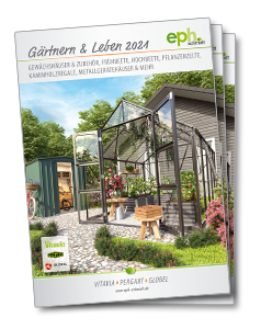 Gartenkatalog eph schmidt mit Vitavi Gewächshäusern